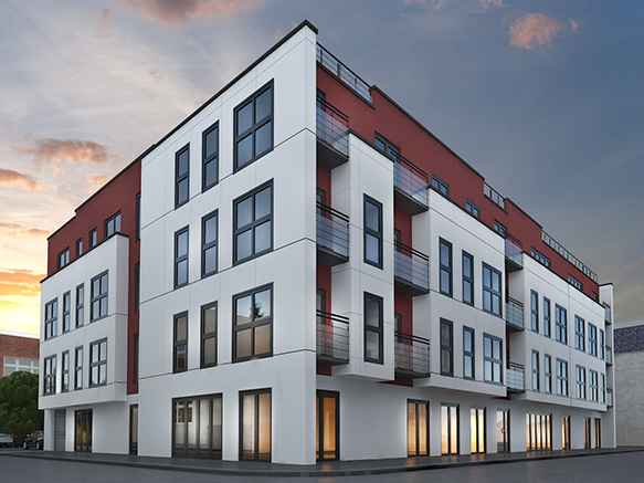 2 Poland Street is situated in Ancoats and comprises three self-contained ground floor office suites within a modern residential scheme. Units one and two are accessed via the main entrance and the third has a dedicated entrance accessed via Portugal Street.